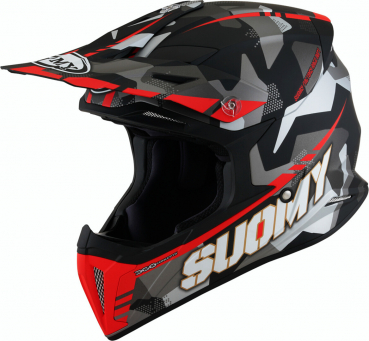 Suomy X-WING Off-Road-Helm CAMOUFLAGER matt-rot