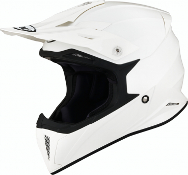 Suomy X-WING Off-Road-Helm Plain weiß