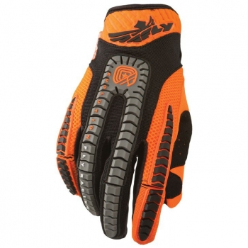 Fly Racing Evolution Handschuhe / Gloves orange-schwarz