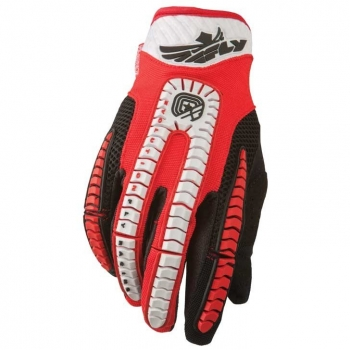 Fly Racing Evolution Handschuhe / Gloves rot-schwarz
