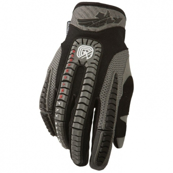 Fly Racing Evolution Handschuhe / Gloves schwarz-grau