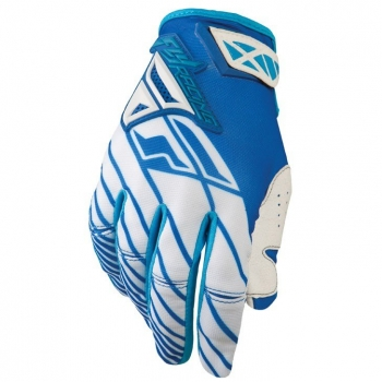 Fly Racing Kinetic Handschuhe / Gloves blau-weiß