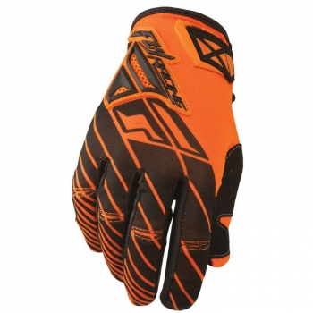 Fly Racing Kinetic Handschuhe / Gloves orange-schwarz