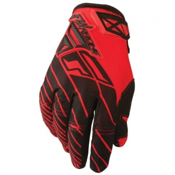 Fly Racing Kinetic Handschuhe / Gloves rot-schwarz