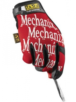 Mechanix Wear Mechaniker-Handschuhe Original rot