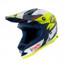 Kenny Track KID Helm navy-neongelb