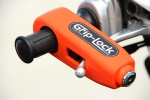 Grip-Lock Handhebelschloss orange